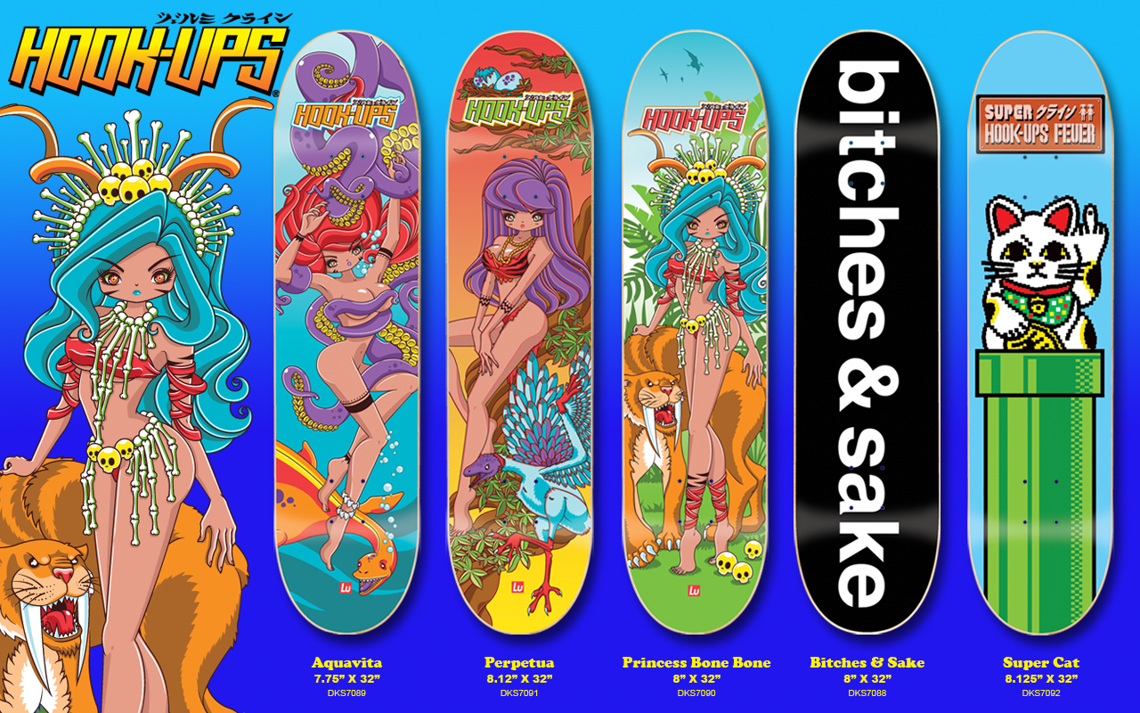 hook up skateboard decks