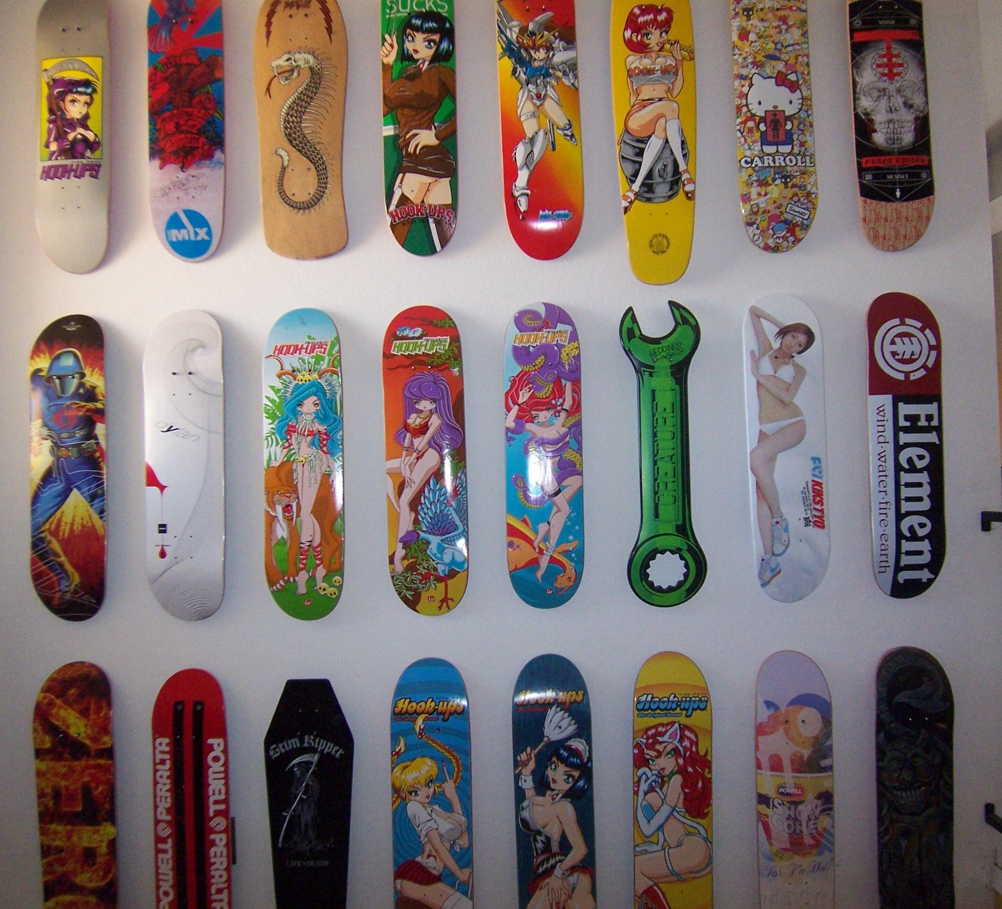 Hookup skateboards designs